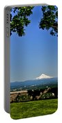 Mt Hood From Rocky Butte Portable Battery Charger