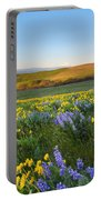 Mt. Hood Wildflower Morning Portable Battery Charger