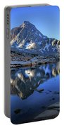 Mt Huxley Over Saphire Lake Morning - John Muir Trail Portable Battery Charger