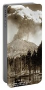 Mt. Lassen In Eruption Oct. 6, 1915 Portable Battery Charger