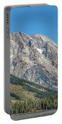 Mt Moran At The Grand Tetons Portable Battery Charger