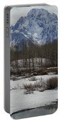 Mt Moran From Cattleman's Bridge Site Portable Battery Charger