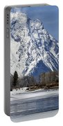 Mt Moran From Oxbow Bend Portable Battery Charger