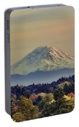 Mt Rainer Fall Color Rising Portable Battery Charger