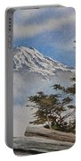 Mt. Rainier Landscape Portable Battery Charger