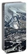 Mt Rundle Aerial View Portable Battery Charger
