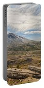 Mt St Helens Portable Battery Charger by Brian Harig