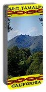 Mt Tamalpais Framed 4 Portable Battery Charger