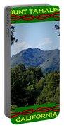 Mt Tamalpais Framed 5 Portable Battery Charger