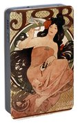 Mucha: Cigarette Paper Ad Portable Battery Charger