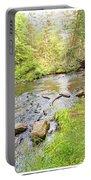 Mud Run, Pennsylvania, Pocono Mountain Stream Portable Battery Charger
