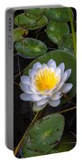 Mudd Pond Water Lily Portable Battery Charger