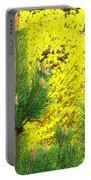 Mugo Pine And Forsythia Portable Battery Charger