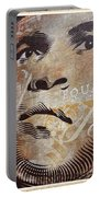 Muhammad Ali Mural Portable Battery Charger