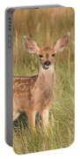 Mule Deer Fawn Is All Ears Portable Battery Charger