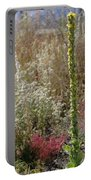 Mullin And Other Springtime Wildflowers Portable Battery Charger