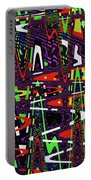 Multi Color Abstract Portable Battery Charger