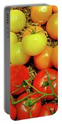 Multi Colored Tomatoes Portable Battery Charger