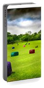 Multicolored Bales Fantasy Portable Battery Charger