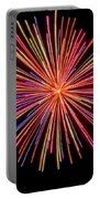 Multicolored Fireworks Portable Battery Charger