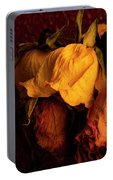 Multicolored Roses Wilting  Portable Battery Charger