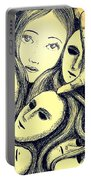 Multiple Personalities Portable Battery Charger by Paulo Zerbato
