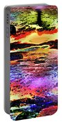 Multiple Underwater Sunsets Portable Battery Charger