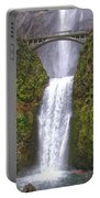 Multnomah Falls 1 Portable Battery Charger