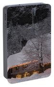 Multnomah Falls Christmas  Portable Battery Charger
