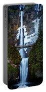 Multnomah Falls Frozen Portable Battery Charger