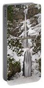Multnomah Falls Winter Portable Battery Charger