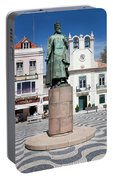 Municipal Square In Cascais Portugal Portable Battery Charger