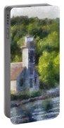 Munising Grand Island Lighthouse Upper Peninsula Michigan Pa 01 Portable Battery Charger