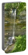 Munising Waterfall Portable Battery Charger