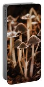 Mushroom Friends Portable Battery Charger