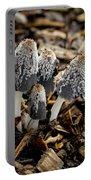 Mushroom Quartet Portable Battery Charger