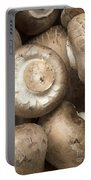 Mushrooms Abstract Closeup Portable Battery Charger