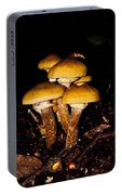 Mushrooms By Night Portable Battery Charger