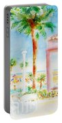 Music At Orange Beach Portable Battery Charger