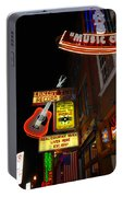 Music City Nashville Portable Battery Charger