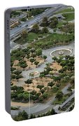 Music Concourse At Golden Gate Park In San Francisco Portable Battery Charger