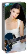 Music Girl Portable Battery Charger