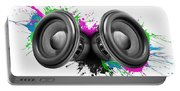 Music Speakers Colorful Design Portable Battery Charger