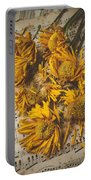 Musical Sunflowers Portable Battery Charger