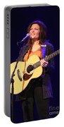 Musician Rosanne Cash Portable Battery Charger
