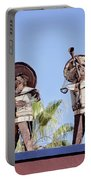 Musicians At The Hotel California Todos Santos Mx Portable Battery Charger