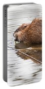 Muskrat Spring Meal Portable Battery Charger