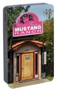 Mustang Ranch Entrance Portable Battery Charger