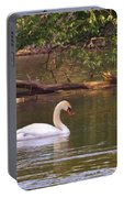 Mute Swan     Image 2      Spring        St. Joe River          Indiana Portable Battery Charger