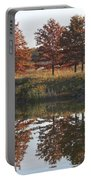 Muted Fall Portable Battery Charger